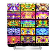 Ascension Wall 201 Shower Curtain
