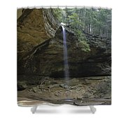 Ash Cave Falls Shower Curtain