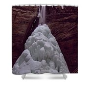 Ash Cave In Hocking Hills Shower Curtain by Dan Sproul