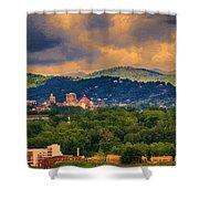 Asheville North Carolina Shower Curtain