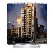 Ashevilles Jackson Building Shower Curtain