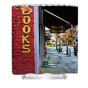 Ashland Bookstore Shower Curtain