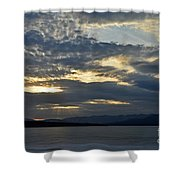 Ashokan Reservoir 12 Shower Curtain
