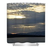 Ashokan Reservoir 13 Shower Curtain