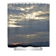Ashokan Reservoir 14 Shower Curtain