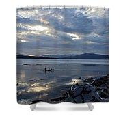 Ashokan Reservoir 17 Shower Curtain