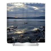 Ashokan Reservoir 19 Shower Curtain