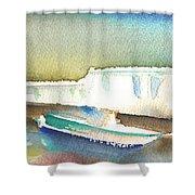 Ashore In Lanzarote Shower Curtain