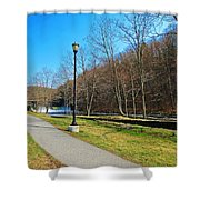 Ashuelot River In Hinsdale Shower Curtain