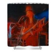 Asia-john-gd24-fractal Shower Curtain