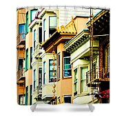 Asia Town Shower Curtain