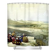 Askelon Shower Curtain
