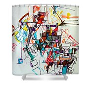 Asking For A Widening Of Thought 2 Shower Curtain