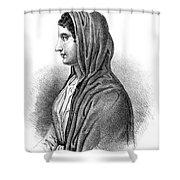 Aspasia (c470-410 B Shower Curtain