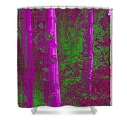 Aspen Grove 4 Shower Curtain