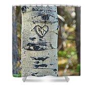 Aspen Love Shower Curtain