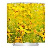 Aspen Sunflower Shower Curtain
