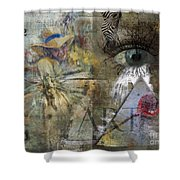 Asperger's Shower Curtain