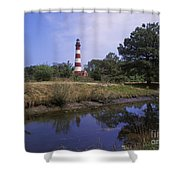 Assateague Lighthouse - Fm000081 Shower Curtain