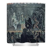 Assembly Of Free Masons Shower Curtain