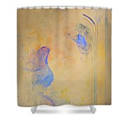 Assimilation Osmotically 2 Recycle  Shower Curtain