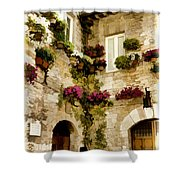 Assisi Courtyard Shower Curtain