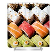 Assortment Of Sushi Shower Curtain