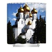 Assumption Cathedral Yaroslavl Russia Shower Curtain