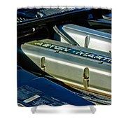 Aston Martin Db7 Engine Shower Curtain