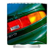 Aston Martin Db7 Taillight Shower Curtain