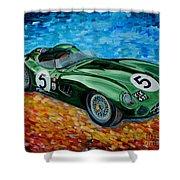 Aston Martin Dbr1 Shower Curtain