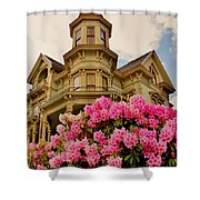 Astoria Shower Curtain by Benjamin Yeager