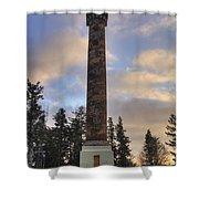 Astoria Column Shower Curtain