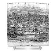 Astoria, Oregon Shower Curtain
