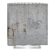 Astract Concrete 1 Shower Curtain