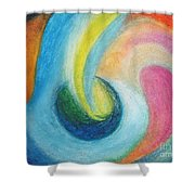 Astral Projection Shower Curtain