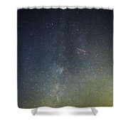 Astro Photography Milky Way Shower Curtain