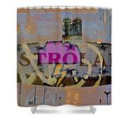 Astroland Shower Curtain