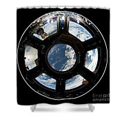 Astronauts View From The Space Station Shower Curtain