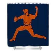 Astros Shadow Player1 Shower Curtain