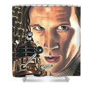 Doctor Who - Asylum Of The Daleks Shower Curtain