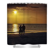 At Days End Shower Curtain