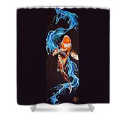 At Dragon's Gate Shower Curtain