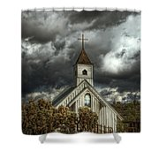 At Heaven's Door  Shower Curtain