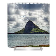 At Mokoli'i's Summit Shower Curtain