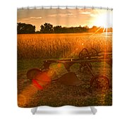 At One Time Shower Curtain