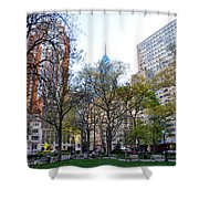 At Rittenhouse Square Shower Curtain