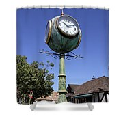 At Ten After Ten In Solvang Shower Curtain