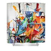 at the age of three years Avraham Avinu recognized his Creator 2 Shower Curtain