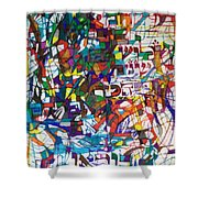 at the age of three years Avraham Avinu recognized his Creator Shower Curtain